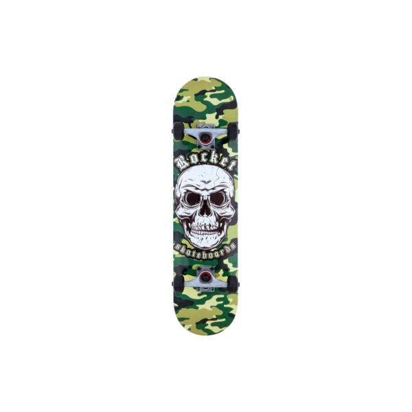 Combat Skull Skateboard